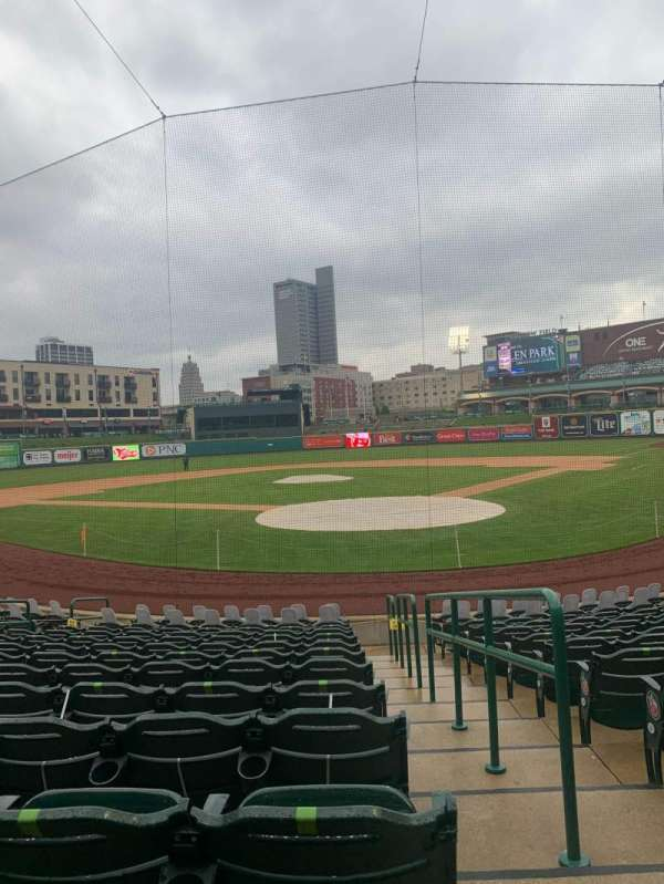 Parkview Field, section: 109, row: N, seat: 1