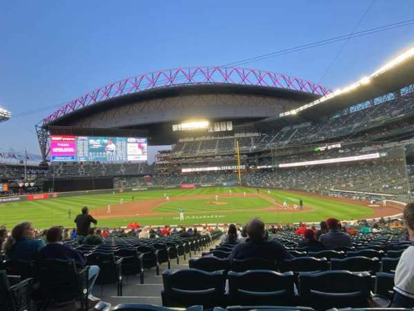 T-Mobile Park, section: 136, row: 31, seat: 11