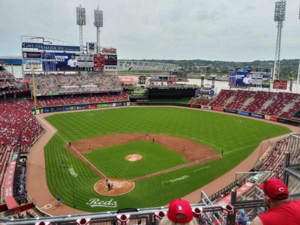 Great American Ball Park, section: 525, row: D, seat: 5