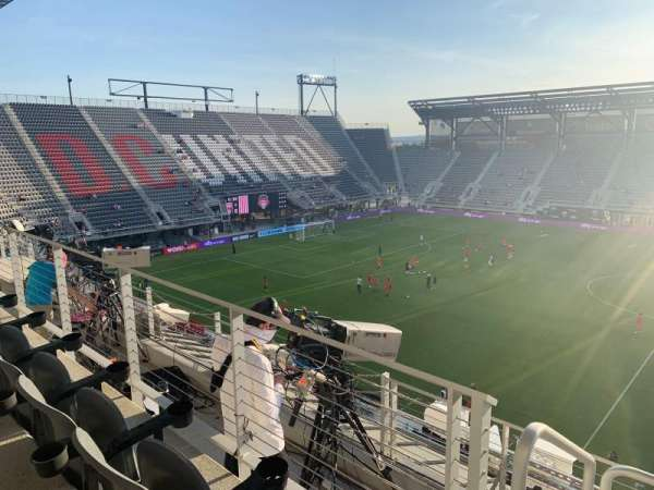 Audi Field, section: 106, row: 4, seat: 2
