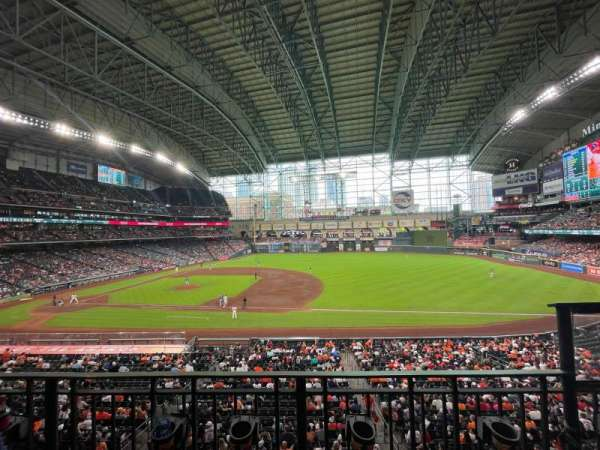 Minute Maid Park, section: 227, row: 2, seat: 15