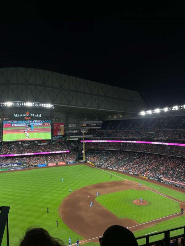 Minute Maid Park, section: 410, row: 2, seat: 1