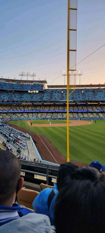 Dodger Stadium, section: 166LG, row: E, seat: 4