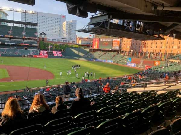 Oriole Park at Camden Yards, section: 19, row: 7, seat: 19