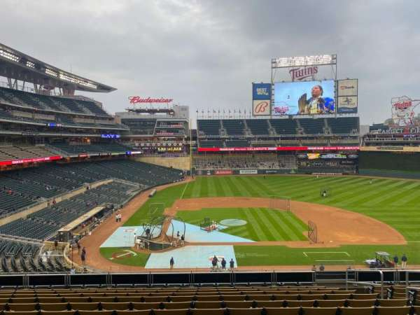 Target Field, section: C, row: 10, seat: 7
