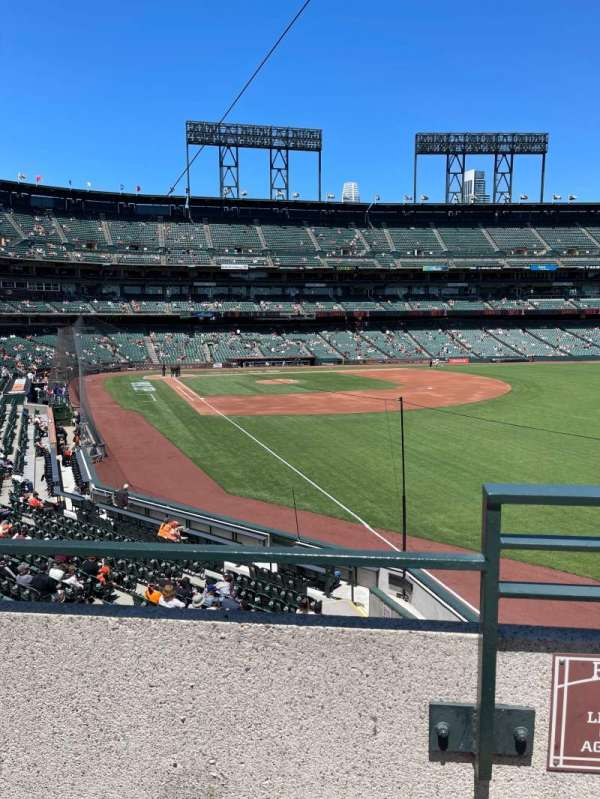 Oracle Park, section: 150, row: 2, seat: 14