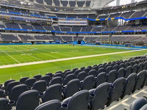 SoFi Stadium, section: VIP131, row: 7, seat: 17