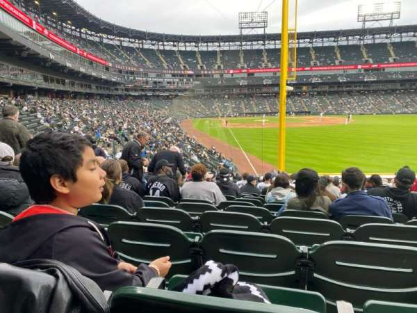 Guaranteed Rate Field, section: 108, row: 24, seat: 6