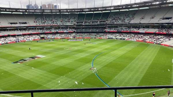 Melbourne Cricket Ground, section: Q12, row: C, seat: 7