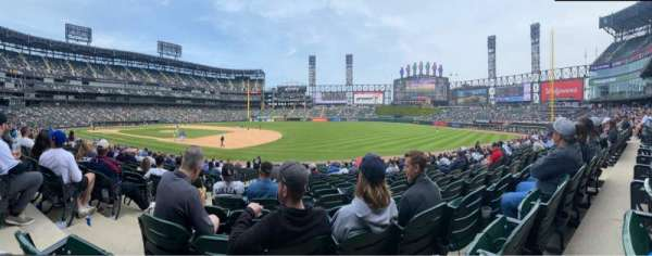 Guaranteed Rate Field, section: 119, row: 24, seat: 8