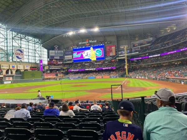 Minute Maid Park, section: 116, row: 16, seat: 16