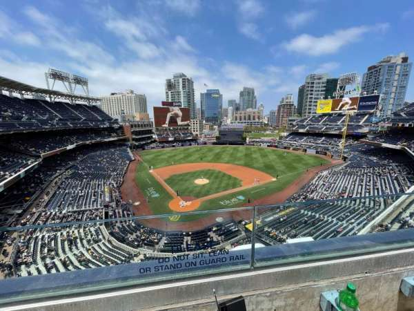 PETCO Park, section: 303, row: 3, seat: 7
