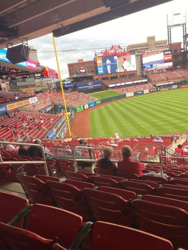 Busch Stadium, section: 165B, row: 29, seat: 20