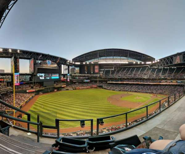 Chase Field, section: 328, row: 3, seat: 17