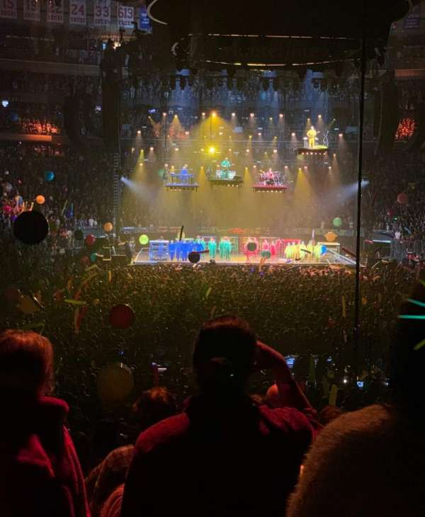 Madison Square Garden, section: 102, row: 12, seat: 1
