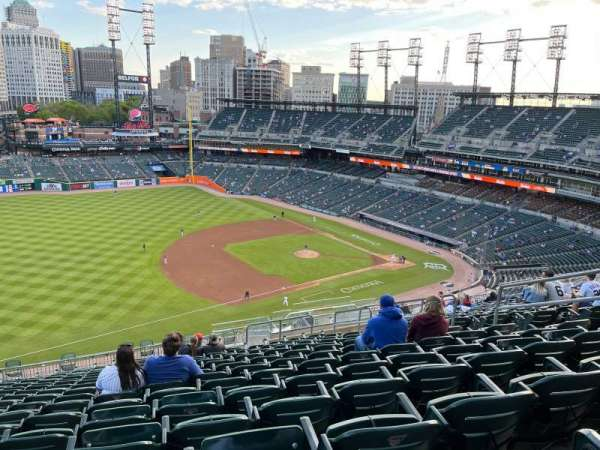 Comerica Park, section: 338, row: 17, seat: 20