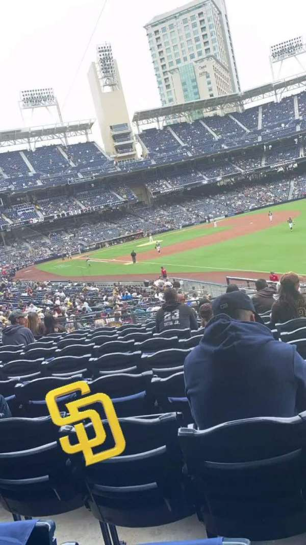 PETCO Park, section: 121, row: 35, seat: 22