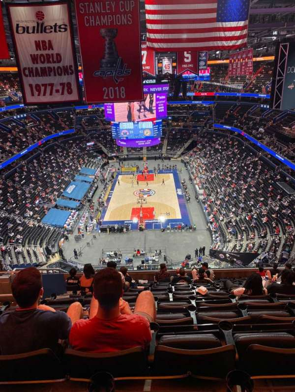 Capital One Arena, section: 409, row: M, seat: 7