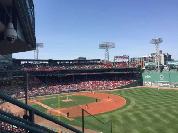Fenway Park, section: Right Field Roof Deck Box 23, row: D, seat: 7