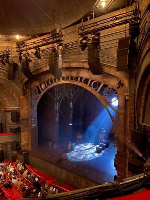 Princess Theatre (Melbourne), section: Grand Circle, row: A, seat: 39