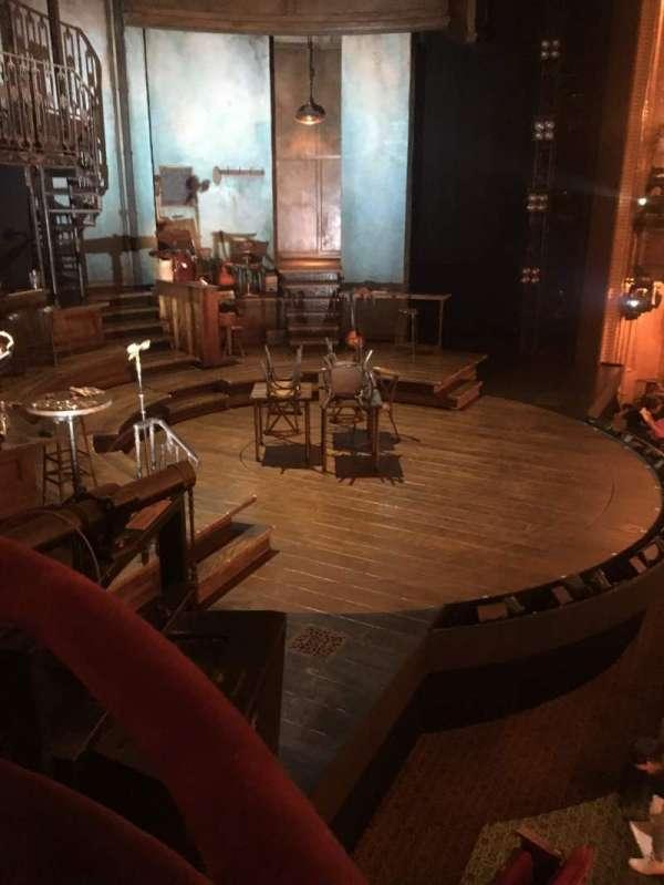 Walter Kerr Theatre, section: Box B, seat: 1