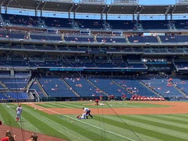 Nationals Park, section: 136, row: R, seat: 8