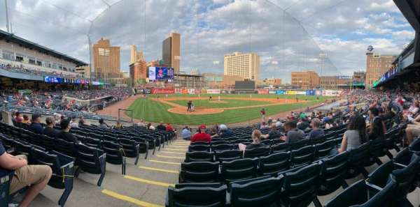 Fifth Third Field, section: 112, row: R, seat: 15