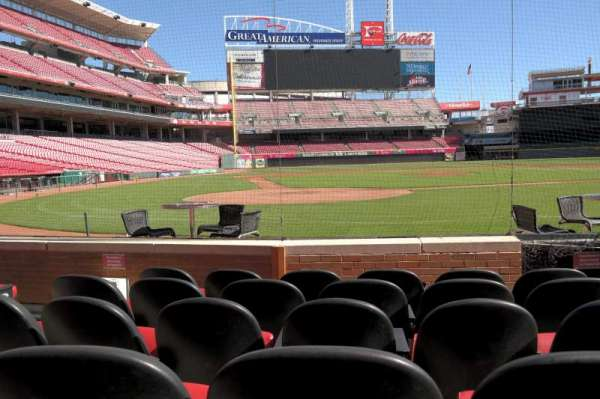 Great American Ball Park, section: 5, row: E, seat: 5