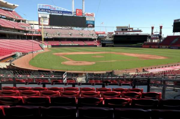 Great American Ball Park, section: 125, row: FF, seat: 7