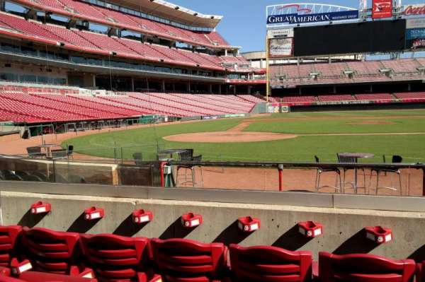 Great American Ball Park, section: 127, row: I, seat: 6