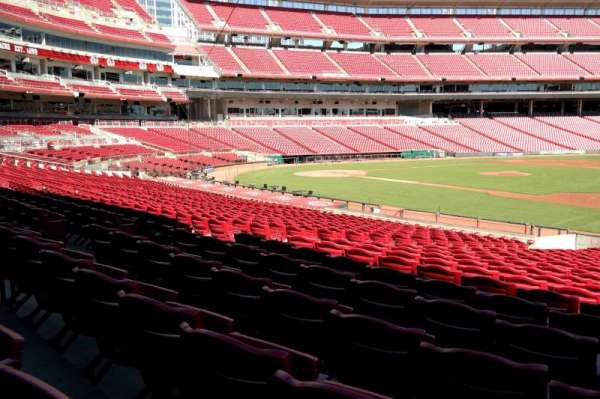 Great American Ball Park, section: 132, row: X, seat: 8