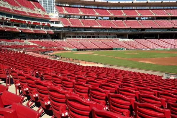 Great American Ball Park, section: 133, row: T, seat: 9