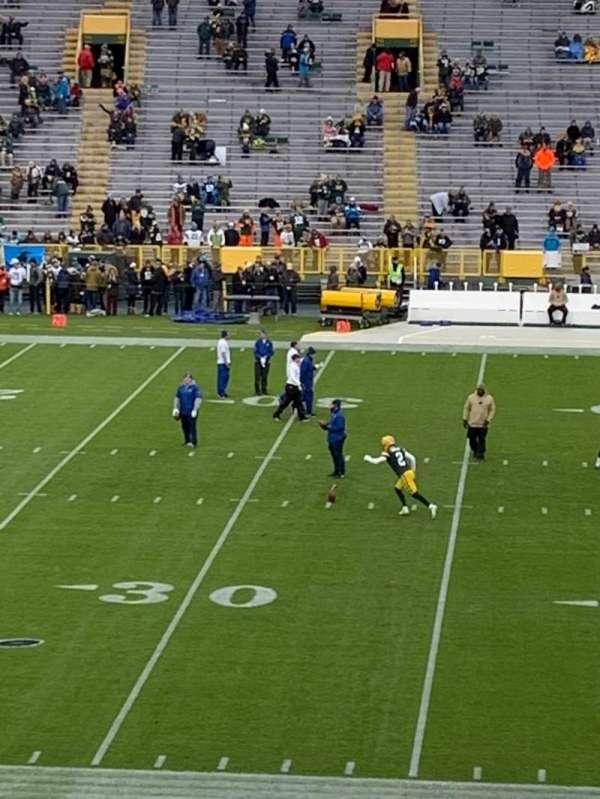 Lambeau Field, section: 118, row: 38, seat: 12