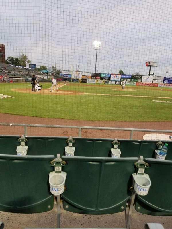 Td ballpark, section: 107, row: D, seat: 7