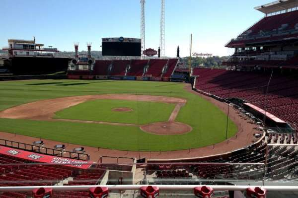 Great American Ball Park, section: 220, row: C, seat: 4