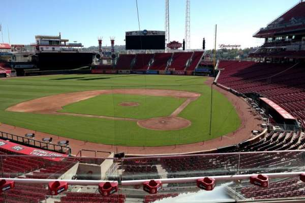 Great American Ball Park, section: 221, row: C, seat: 7
