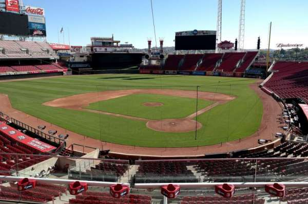 Great American Ball Park, section: 222, row: B, seat: 7