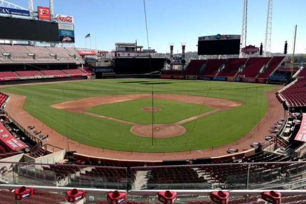 Great American Ball Park, section: 223, row: B, seat: 7