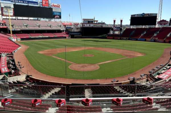 Great American Ball Park, section: 224, row: C, seat: 7