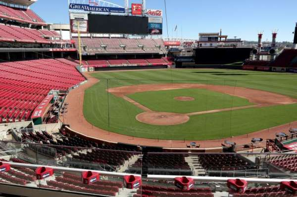 Great American Ball Park, section: 225, row: C, seat: 7