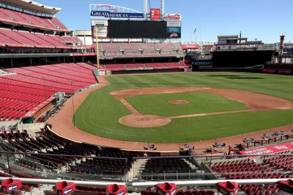 Great American Ball Park, section: 226, row: C, seat: 7