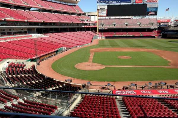 Great American Ball Park, section: 227, row: A, seat: 7