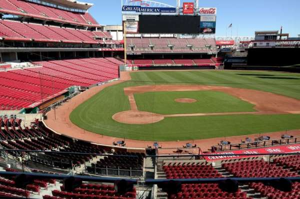 Great American Ball Park, section: 228, row: A, seat: 4