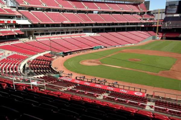 Great American Ball Park, section: 303, row: G, seat: 9