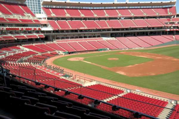 Great American Ball Park, section: 306, row: D, seat: 10