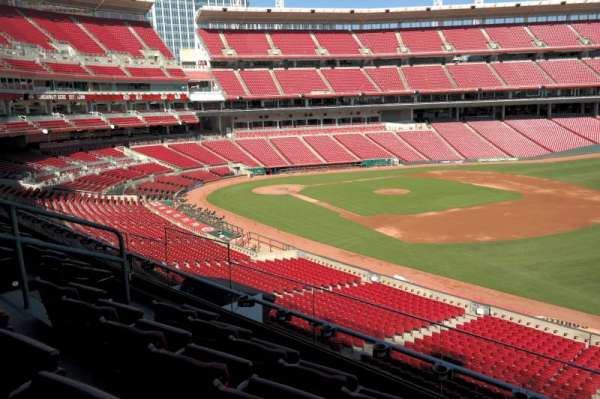 Great American Ball Park, section: 307, row: D, seat: 9