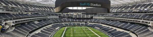 sofi stadium, section: Level 3, row: Food court