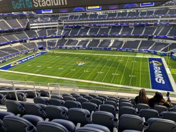 SoFi Stadium, section: 326, row: 8, seat: 8