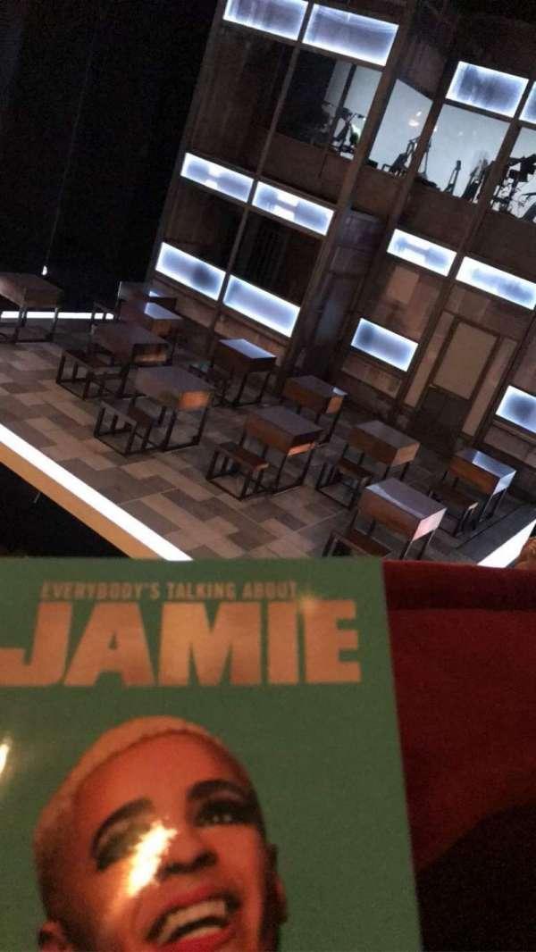 Apollo Theatre, section: Dress Circle, row: A, seat: 2