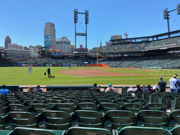 Comerica Park, section: 137, row: 13, seat: 3